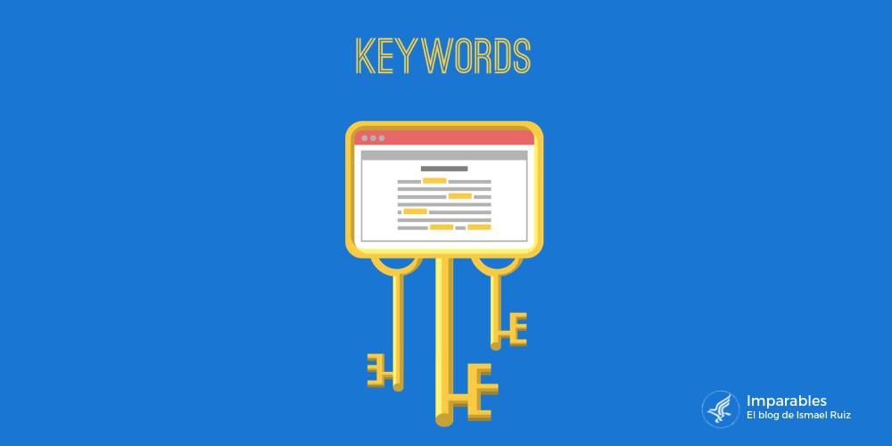 Tipos de Palabras clave según su longitud