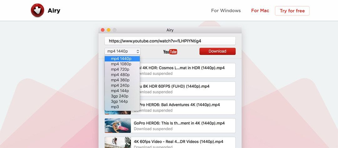 Airy Downloader