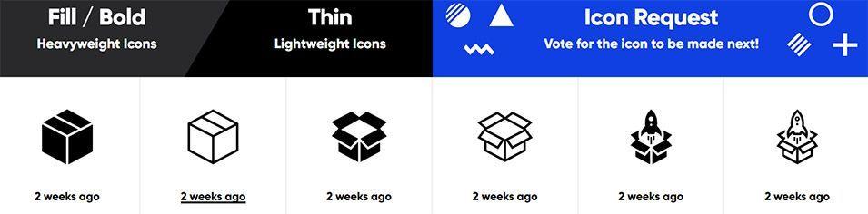 IconMonstr (iconos gratis por fuente)