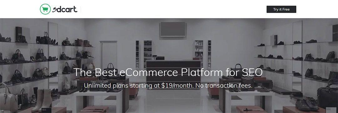 3DCart, la plataforma para montar tiendas online gratis