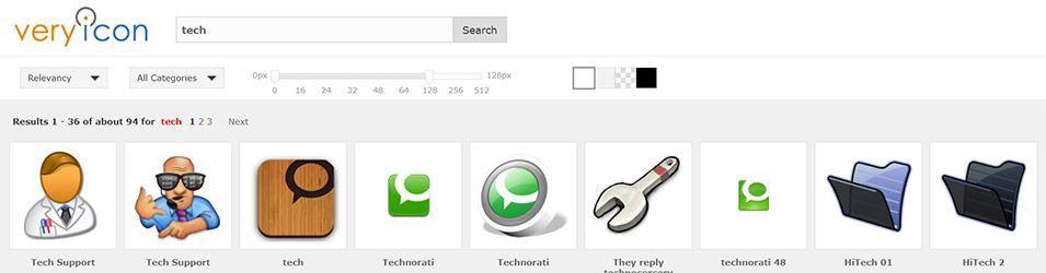 Very Icon, banco de iconos gratuitos
