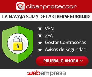 Contratar Ciberprotector de Webempresa CON DESCUENTO