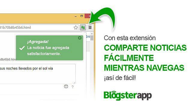 """Curación de contenido en """"1 clic"""" con BlogsterApp"""