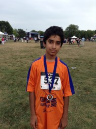 Aga Khan Foundation USA Chicago PartnershipsInAction Walk/Run September 8, 2013. Total time: 34:46