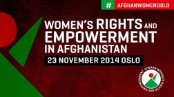 Symposium on Women's Rights and Empowerment in Afghanistan (Photo: Norway MFA/ Kilian Munch)