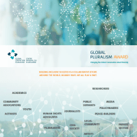 Global Centre for Pluralism introduces Global Pluralism Award