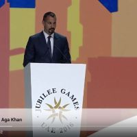 Video: Speech by Prince Rahim Aga Khan at the Opening Ceremony of the 2016 Jubilee Games in Dubai