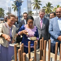 Official Launch of the second phase of Aga Khan Hospital construction in Dar es Salaam, Tanzania