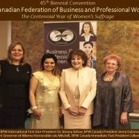Jenny Gulamani-Abdulla Elected as President of BPW Canada
