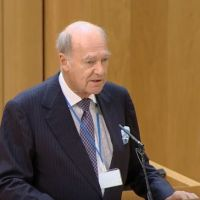 Prince Amyn Aga Khan Speaks at the Scottish Parliament