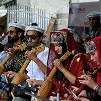 Bulbulik Heritage Centre participate in the 'Roof of the World' (Bam-i-Dunya) festival Gulmit, Hunza