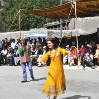Wakhi Chinese artists participated in the 'Roof of the World' (Bam-i-Dunya) festival at Gulmit Hunza