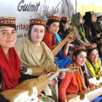 Leif Larsen Music Centre Altit Hunza participate in the 'Roof of the World' (Bam-i-Dunya) festival Gulmit, Hunza