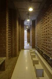 The ablution. Aga Khan Award for Architecture 2016 Winner: Bait ur Rouf Mosque Dhaka, Bangladesh