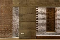 Interior view. Aga Khan Award for Architecture 2016 Winner: Bait ur Rouf Mosque Dhaka, Bangladesh