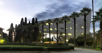 Surrounding historic buildings: Aga Khan Award for Architecture 2016 Winning Project: Issam Fares Institute Beirut, Lebanon
