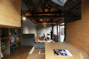 Interiors are elevated. Aga Khan Award for Architecture 2016 Winner: Hutong Children's Library and Art Centre Beijing, China