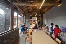 Art class and a dance class. Aga Khan Award for Architecture 2016 Winner: Hutong Children's Library and Art Centre Beijing, China