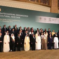 Cultural Diplomacy: France, UAE, UNESCO, Aga Khan, 40 nation states, international organizations and museums bring synergy at Safeguarding Endangered Cultural Heritage conference with the Abu Dhabi Declaration