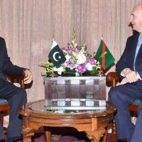 Pakistan's Minister for Finance meets His Highness the Aga Khan in Paris