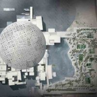 His Highness Prince Karim Aga Khan attends the upcoming new Louvre Abu Dhabi, UAE
