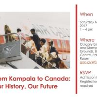 Ugandan Asian Archives Collection Exhibition in Calgary