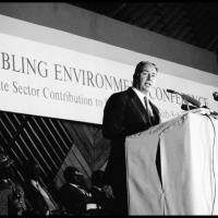 """His Highness the Aga Khan: """"The voluntary sector represents, and can develop, all that is finest in the human potential"""""""