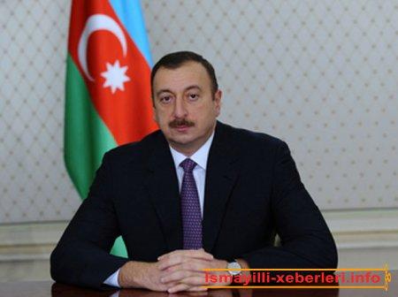 Prezident İlham Əliyev Azərbaycan xalqını təbrik edib