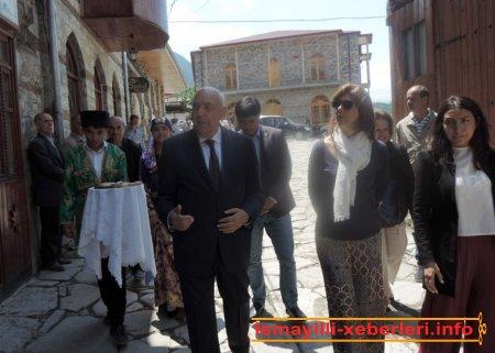 Kolumbiyanın xarici işlər naziri İsmayıllıda olub