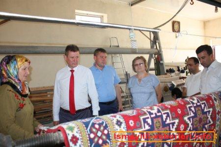 Belarus qonaqlar Heydər Əliyev Mərkəzində qəbul edilib
