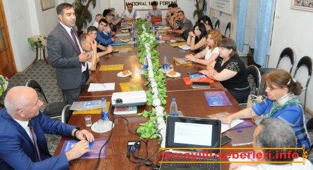 Regional İnsan Hüquqları və Media Mərkəzi yeni layihənin icrasına başlayıb