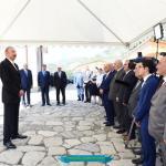 İsmayıllı Rayon İcra Hakimiyyətinin  başçısı M.M.Sadıqovun Hesabatı