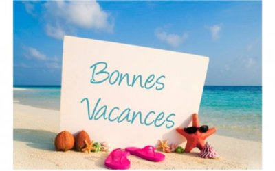 Bonnes vacances à tous !