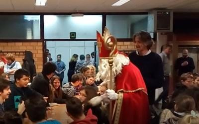 Visite du Grand Saint-Nicolas pour le 1er degré