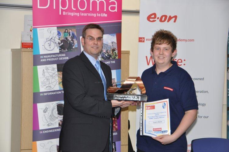 ISME 2010 Overall Winner Gareth Bielby Bae