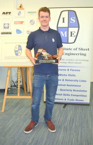 Alexander Johnson Babcock Overall Winner ISME Trophy 2017