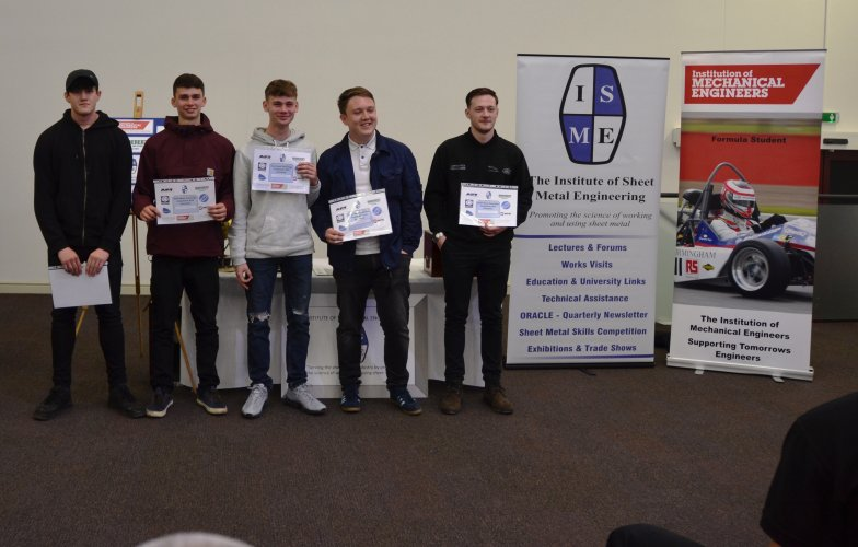 Warwickshire College Apprentices 2018