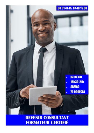 Du 03 au 07 mai, devenez Consultant Formateur Certifié