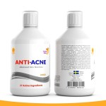 Anti acne vitamin drink by Swedish Nutra