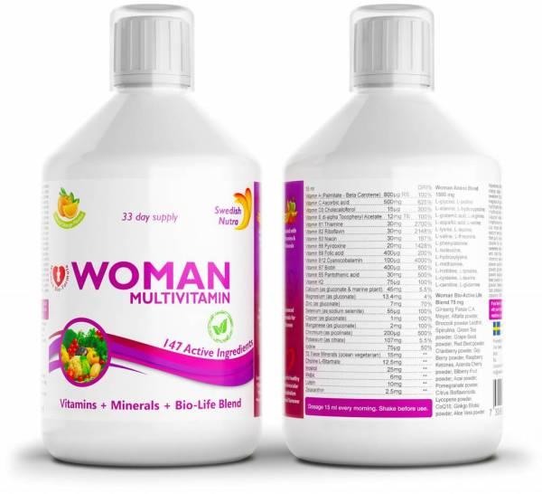 Vitamiinid naistele – auhinnatud swedish nutra multivitamiin
