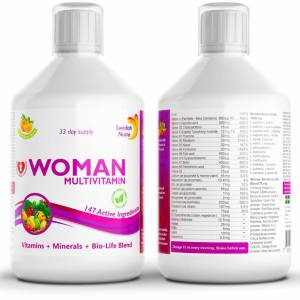 Vitamins for women - prized Swedish Nutra multivitamin