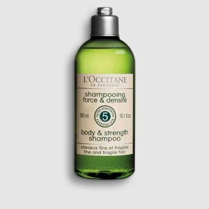 l'occitane body & strength šampoon 300ml