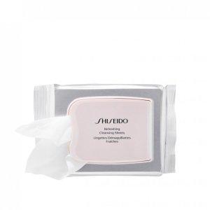 shiseido puhastusrätikud näole