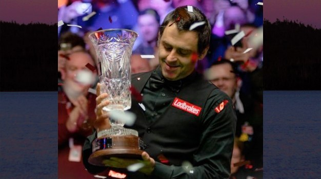 December 5 – Ronnie O'Sullivan gets the games of life