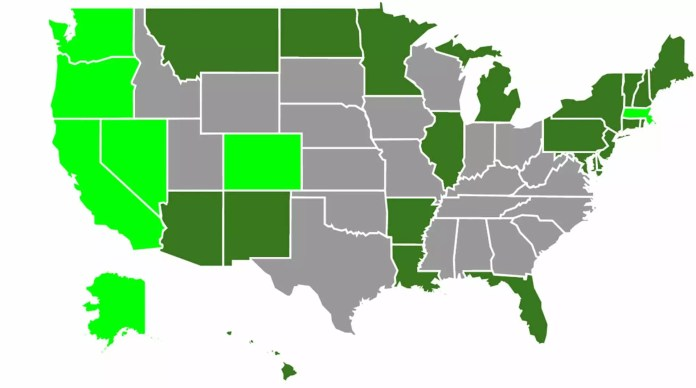 US Cannabis Laws 2016
