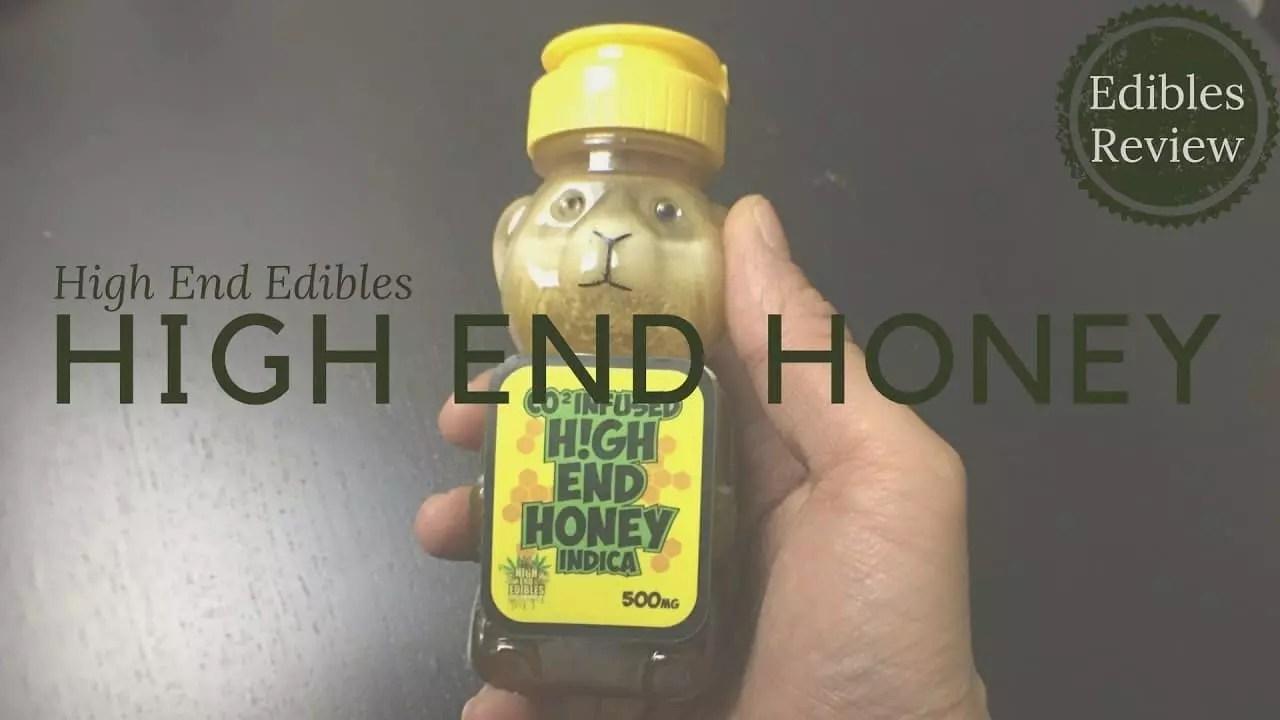 High End Edibles Cannabis Honey Review