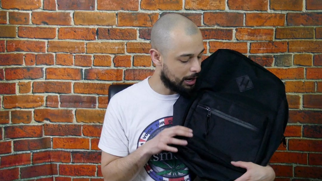 , Abscent Smell-Proof Ballistic Backpack Review, ISMOKE