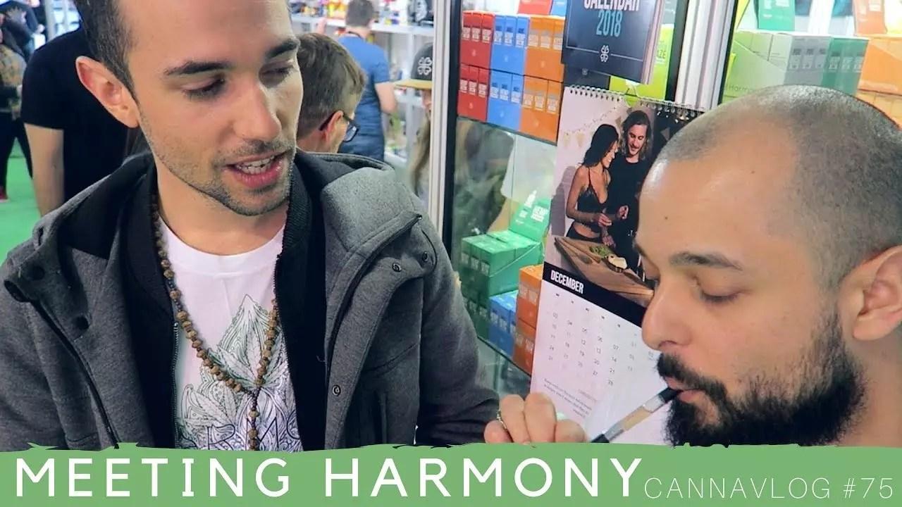 Meeting Harmony (Spannabis Day 3) | CannaVlog #75