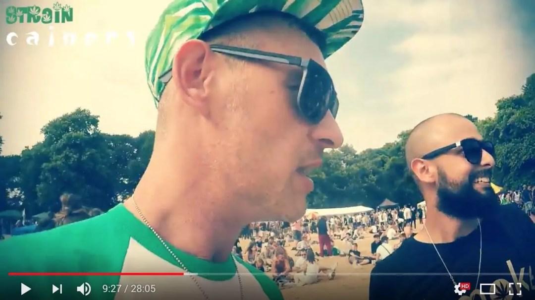 , Green Pride Brighton 2018 Strain Cainers Vlog