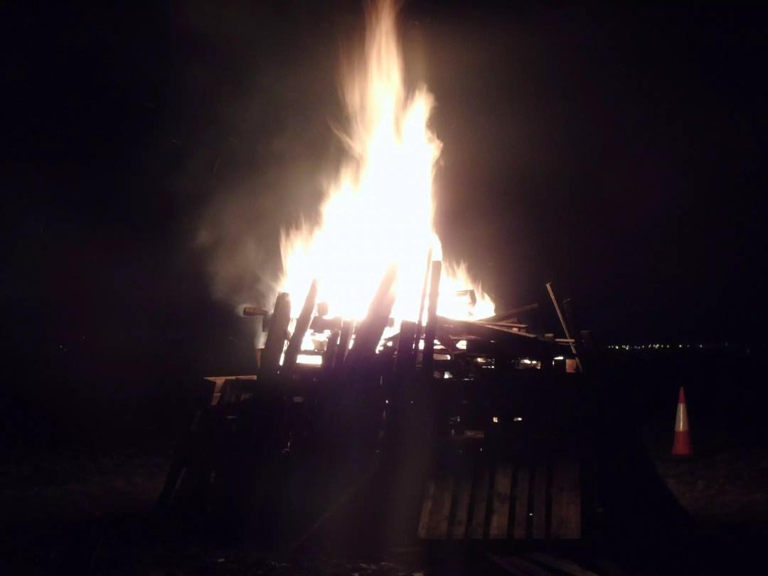 , Darwen Bonfire Blaze
